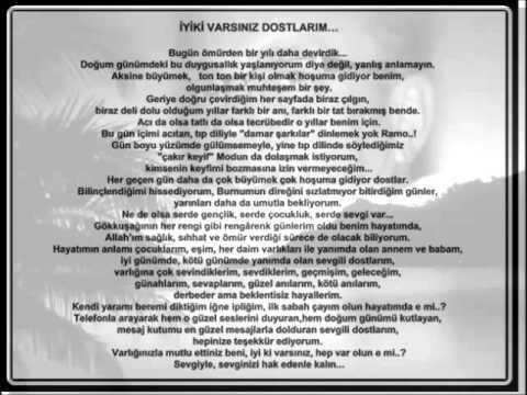 İYİKİ VARSINIZ DOSTLARIM.doc