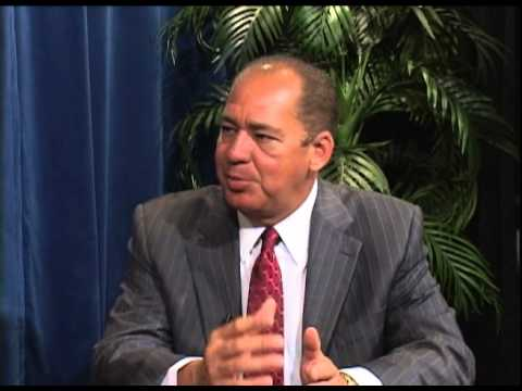 Auditor Gainer Interviews Governor Earl Ray Tomblin