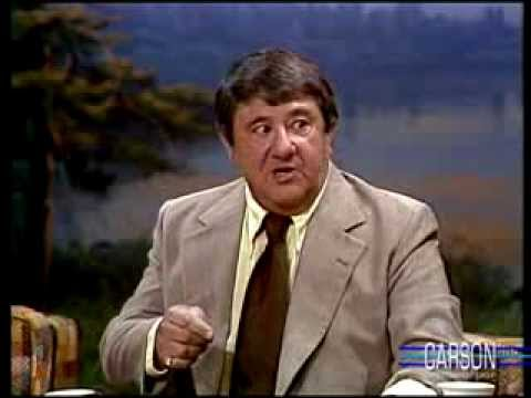 Buddy Hackett on Getting Naked & Sumo Wrestling in Japan, Johnny Carson ...