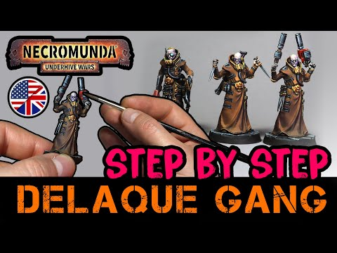 How to Paint: Delaque Gang #GamesWorkshop EASY STEP BY STEP
