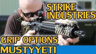 Strike Industries Grips (Cobra Fore Grip & Patriot Tactical Grip) :: Musty Yeti