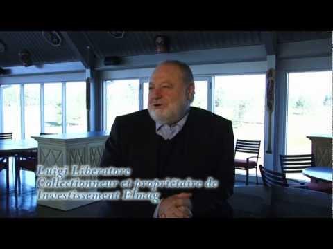 Luigi Liberatore, collectionneur d'art, présente Maître Charles Carson