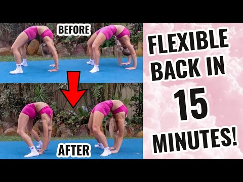 HOW TO IMPROVE YOUR BACK FLEXIBILITY IN 15 MINUTES!!!