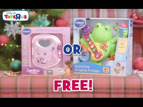 Toys R Us Offer! Free VTech Toy When You Spend £50 On VTech