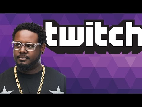 T-Pain The Twitch Streamer - More Musician Twitch Streamers