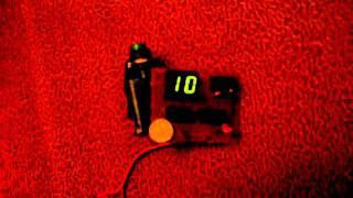 Цифровой индикатор на К176ИЕ4