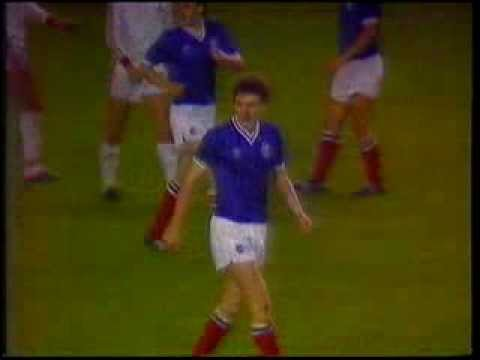 Rangers v Cologne UEFA Cup Oct 20th1982