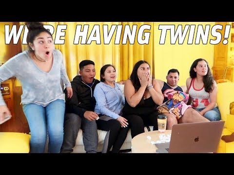 SURPRISING OUR FAMILY WITH TWIN ANNOUNCEMENT!!!