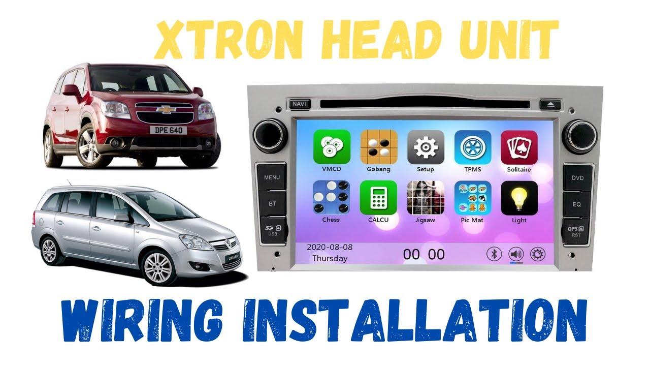 hight resolution of xtrons after market head unit installation