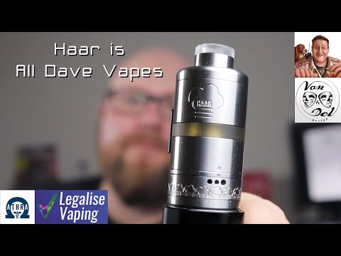 Haar RTA is All Dave Vapes | Is a wee delightful little RTA!