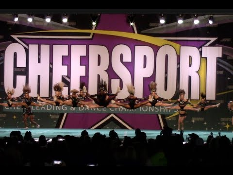 Cheer Extreme SSX Cheersport 2019 - YouTube