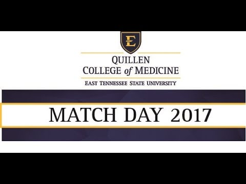 Quillen College of Medicine Match Day Ceremony