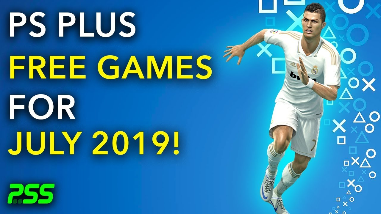 *OLD* PS Plus Free Games for July 2019! - Pro Evolution Soccer 2019 &  Horizon Chase Turbo