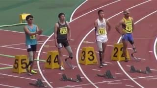 第33回静岡国際陸上 男子パラ100m