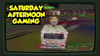 Twisted Metal (PS1) - Extreme Vehicular Combat on the PS1! - Saturday Afternoon Gaming