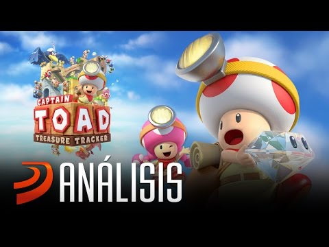 """Análisis de: Captain Toad Treasure Tracker - """"Un tesoro nintendero en el Reino Champiñón"""""""
