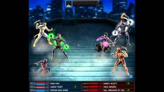 Marvel Avengers Alliance PvP: Heroic Age Iron Fist & Spider-Man 2099 Team up
