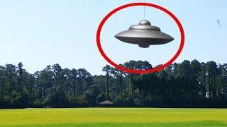 MASSIVE UFO OVER FIELD!