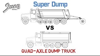 Super Dump vs Quad-Axle Dump Truck