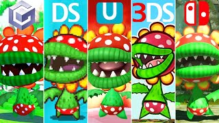 Evolution of Petey Piranha Battles in Mario Games (2002-2020)