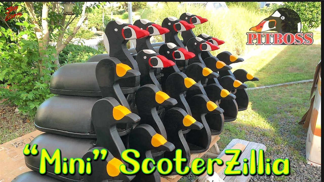 How to make Decoys: ScoterZillias Update 4-  Decoys for Seaduck Hunting  - FoamZillias - FaZillias