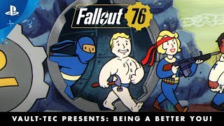 Fallout 76 – Vault-Tec Presents: Being a Better You! Perks Video | PS4