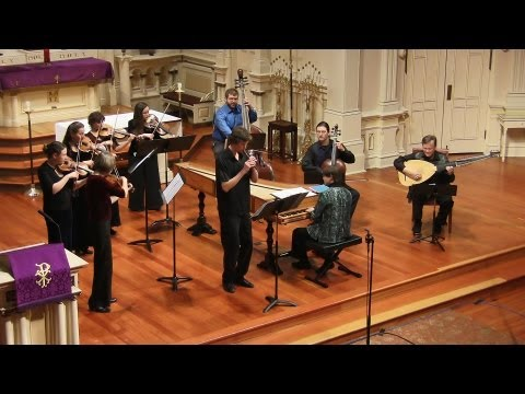 Vivaldi: Recorder Concerto in C Major RV 444 Allegro, Andrew Levy & Voices of Music
