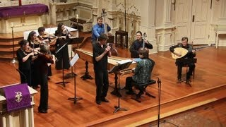 Antonio Vivaldi: Recorder Concerto in C Major RV 444 Allegro