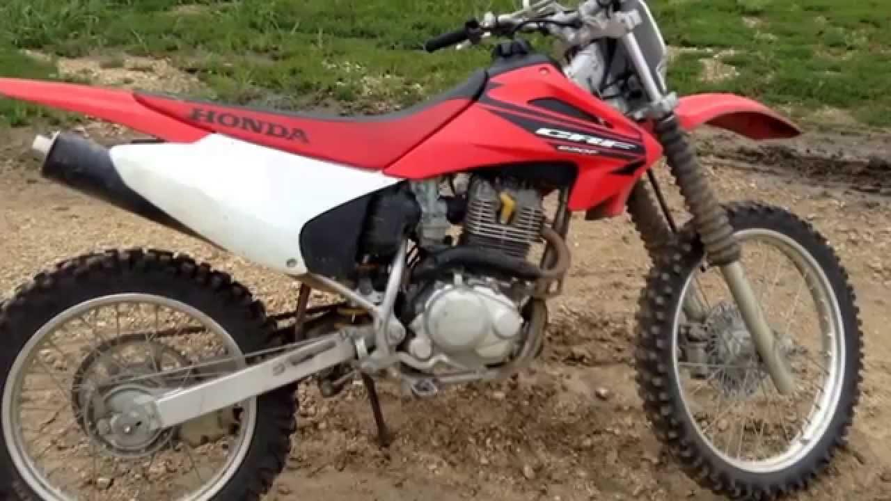 2005 Honda crf230 - YouTube