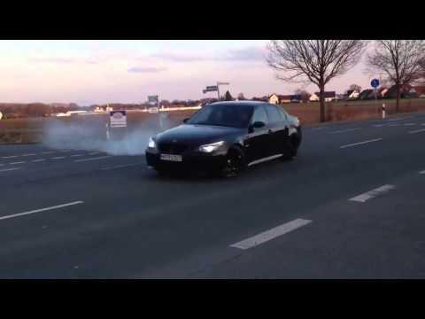 BMW M5 E60 Black Beast By ManTec Racing 5.8L Stroker 630PS Drift Donuts