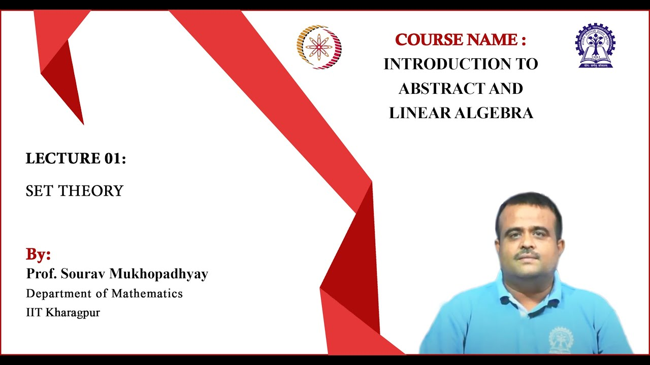 NPTEL :: Mathematics - NOC:Introduction to Abstract and
