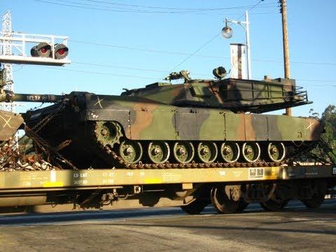 Union Pacific Military Tank Train - 8/3/11