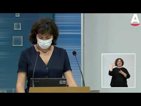 Paloma Navas informa de los municipios que están en riesgo extremo en Cantabria