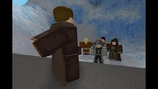 Roblox | Training Jedi's on Ilum!