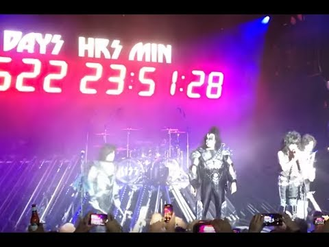 KISS announce final concert set for July 2021 plus 90 mores dates to be set soon..!