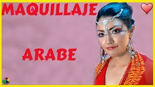 MAQUILLAJE ARABE  PASO A PASO  / ORIENTAL ARABIC MAKEUP