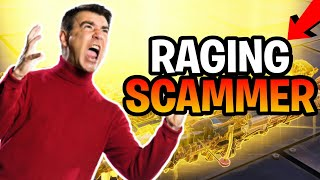 Raging Scammer Loses Whole Inventory (Scammer Gets Scammed) Fortnite Save The World