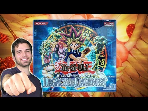 Insane CLASSIC YuGiOh 2003 Legacy of Darkness 1st Edition Box Opening! PATRON POWER!!