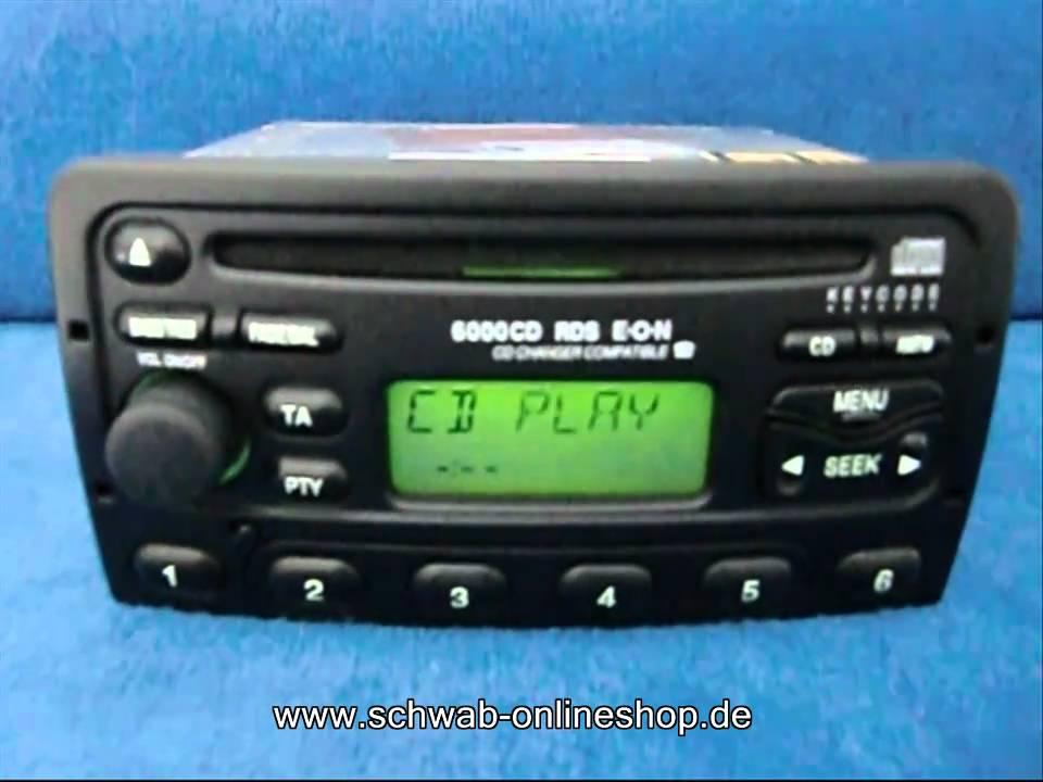 Ford 6000 CD  carradio car Radio Autoradio decode encode