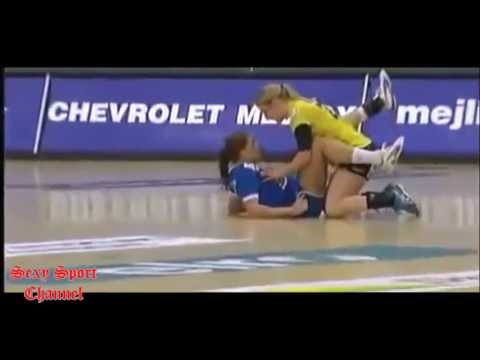 Handball sexy Female players
