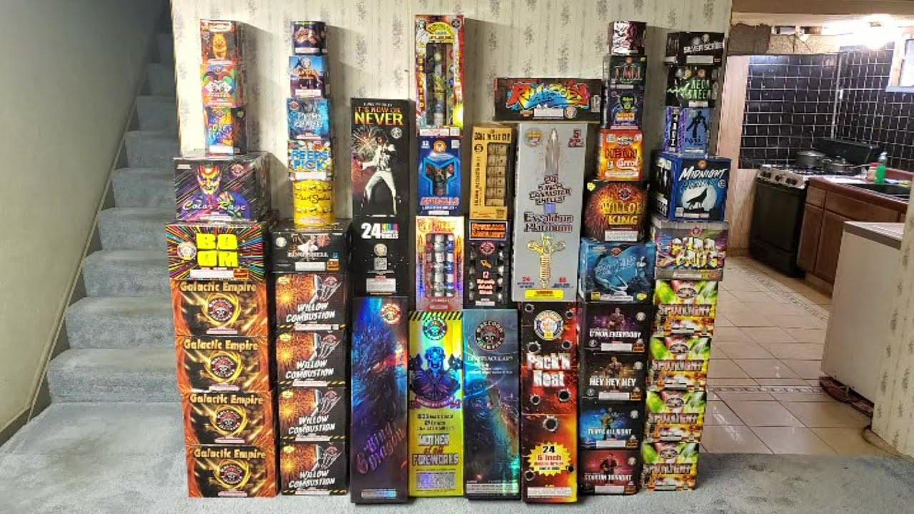 July 4th, 2021 Firework Stash Update (Part 1) - American Fireworks Order (The Beginning)