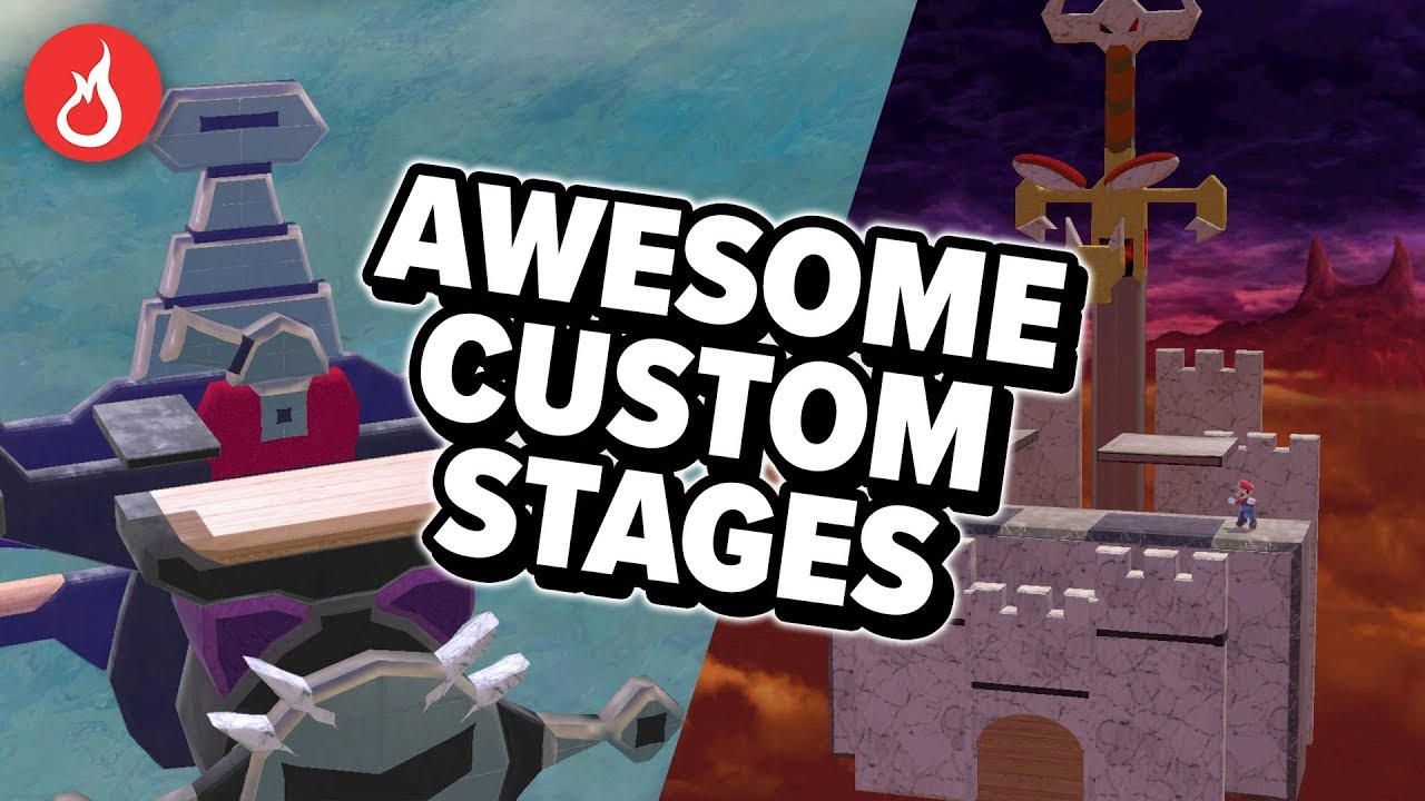 AWESOME Stage Builder stages in Smash Ultimate