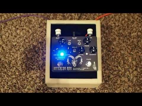Wounded Paw Effects Battering Ram Overdrive + Fuzz V2.1