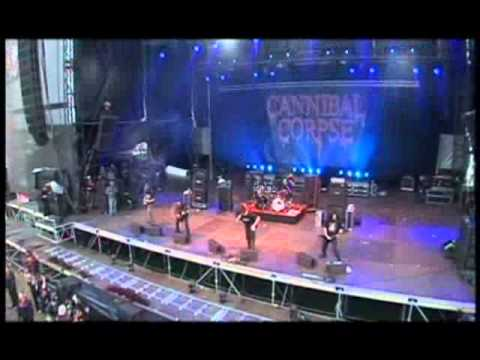 Cannibal Corpse Live concert