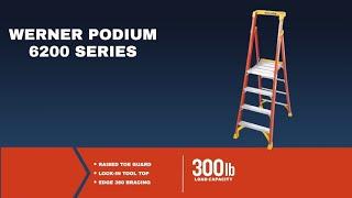 Werner Ladder - PD6200 - Walk It Down