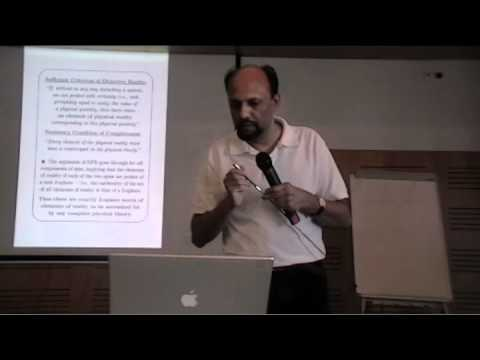 """Joy Christian: """"Disproof of Bell's Theorem"""", FQXi Azores Conference 2009"""