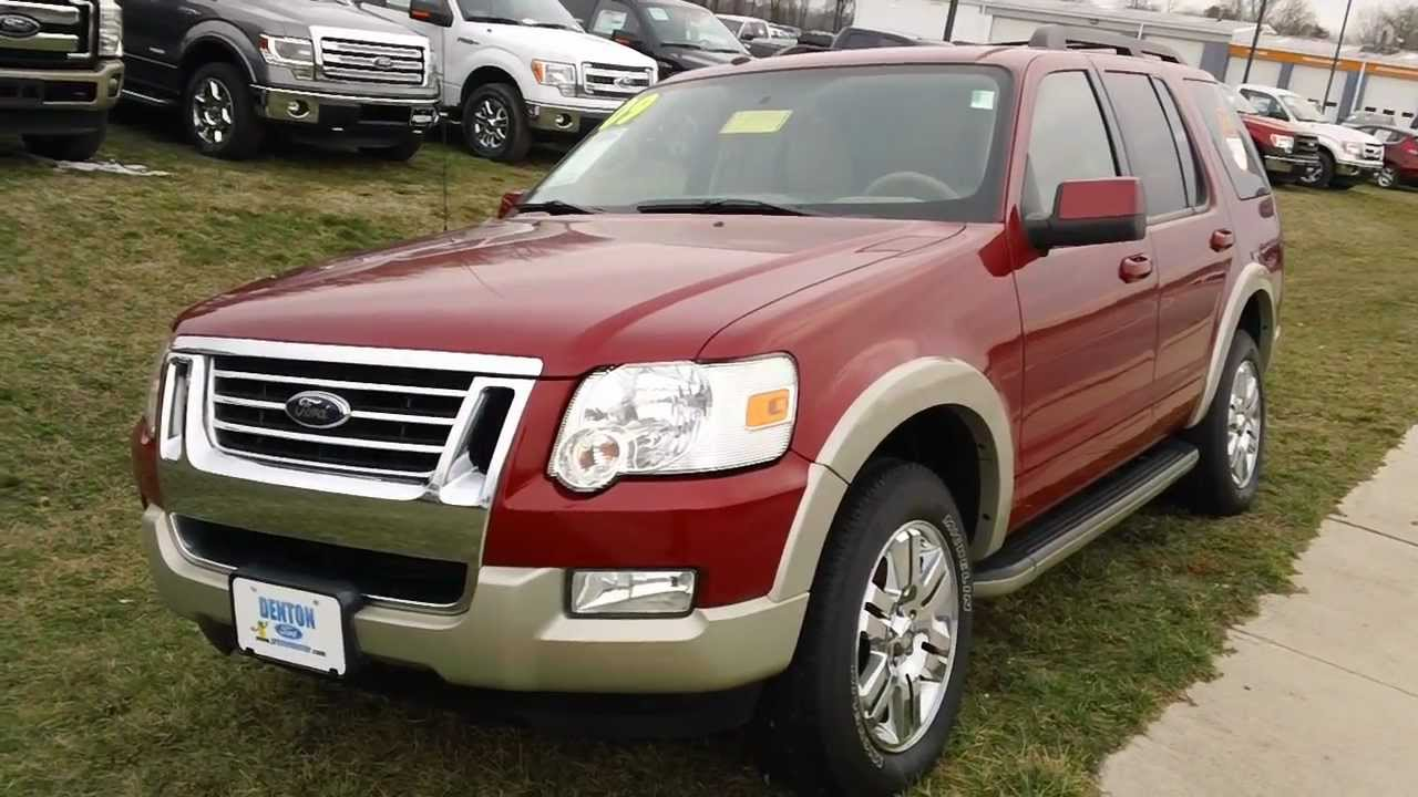 Ford explorer eddie bauer 4wd v6 used car for sale denton ford maryland youtube