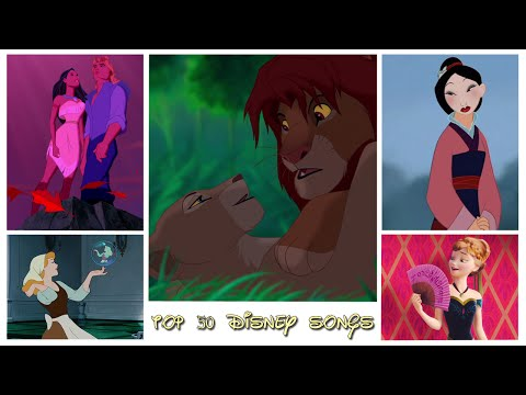 My top 50 Disney songs