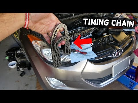 HOW TO REPLACE TIMING CHAIN ON HYUNDAI ELANTRA