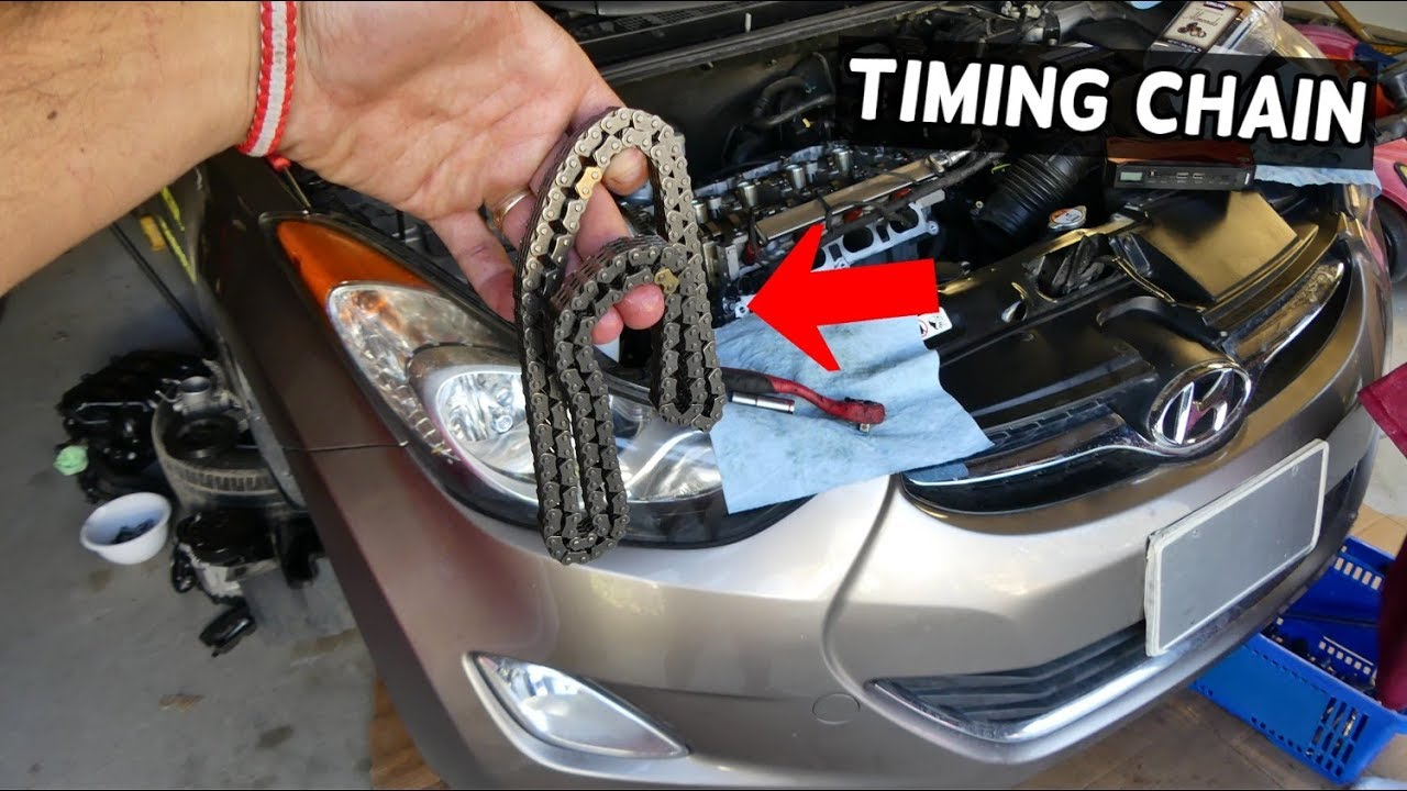 hight resolution of how to replace timing chain on hyundai elantra